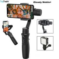 Hohem iSteady Mobile+ Plus 3 Axis Handheld Smartphone Gimbal Stabilizer for iPhone Andriod Huawei Samsung Smart Phones Gopro