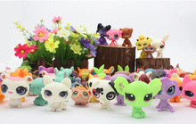 Chanycore CUTE DOLL model lps Toy bag 20Pcs/bag Little Pet Shop Mini Toy Animal Cat patrulla canina dog toys for children