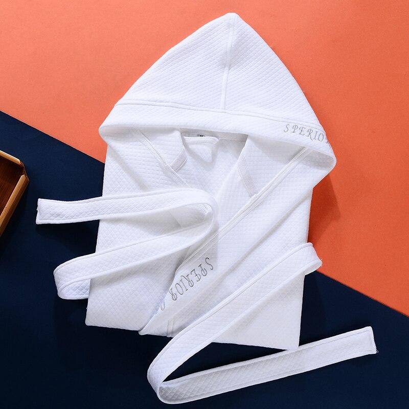 Winter 100 Cotton Bathrobe Women Thick Women s Towel Fleece Robes Home Wear Solid Pure Color