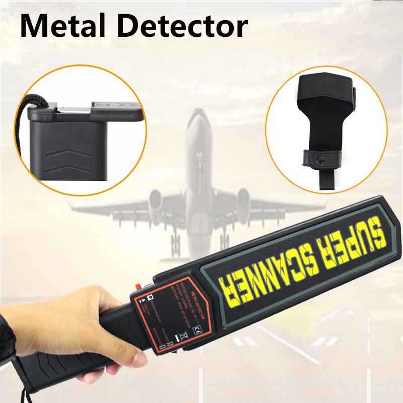 Handheld Light-weight Security Scanners Wand Metal Detector, Professional Super Scanner Tool Finder with Adjustable Sensitivity by dhl or ems 50 pieces handheld metal detector tx 2002 of portable super scanner sensitivity super scanner tool finder