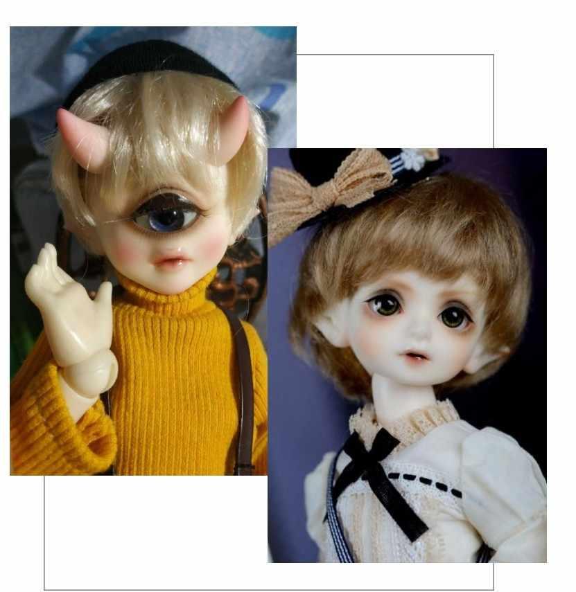 BJD Doll 1/6 Aileen Camellia BJD Boneka Bersama Boneka Hadiah Gratis Glasseseyes untuk Anak Gadis Mainan