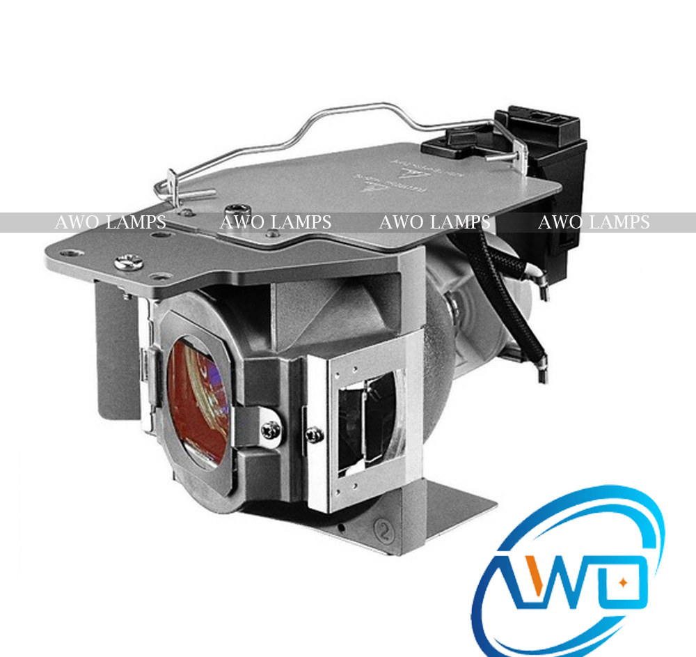 AWO Quality Compatible Replacement Projector Lamp  MH30 MH680 TH680 5J.JAH05.001 with New Housing for BENQ TH681/TH681+TH681H awo quality compatible replacement projector lamp mh30 mh680 th680 5j jah05 001 with new housing for benq th681 th681 th681h