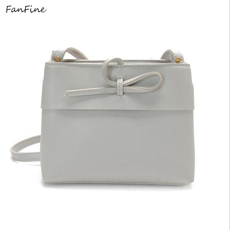 FanFine vintage bow small handbags hotsale women evening clutch ladies mobile purse shoulder messenger crossbody bags square bag