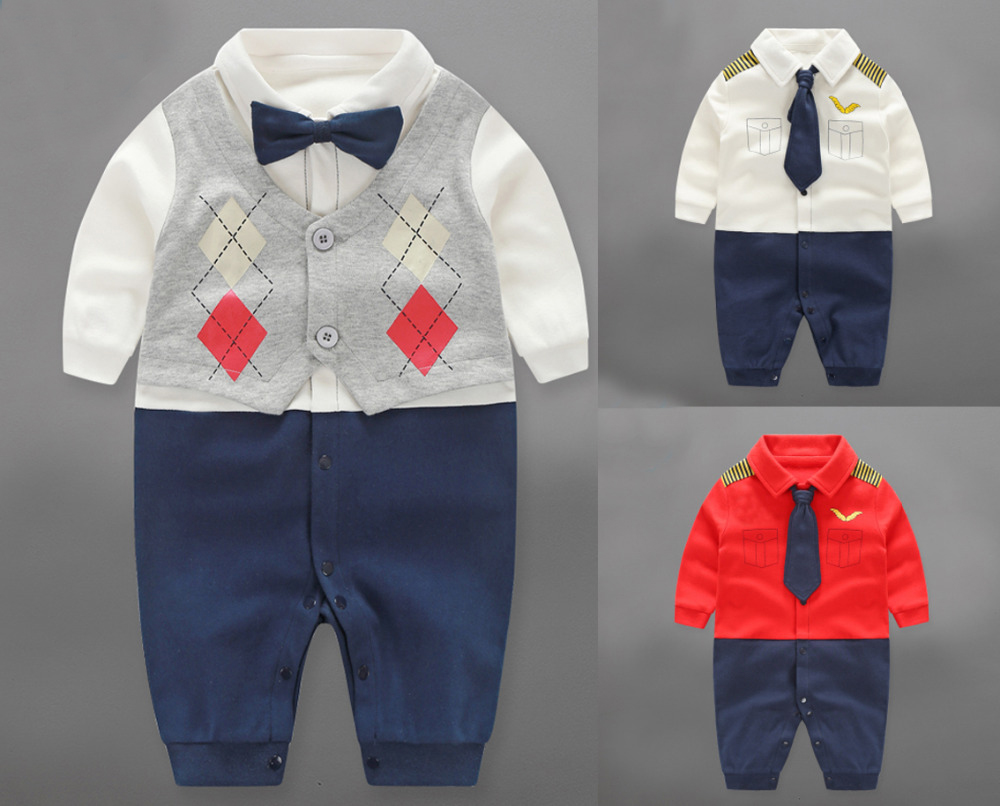 Baby Boys Rompers Autumn Children Clothing Newborn Baby Girl Clothes Cotton Long Sleeve Jumpsuit Infantil Jumpsuit Kid Clothes mother nest 3sets lot wholesale autumn toddle girl long sleeve baby clothing one piece boys baby pajamas infant clothes rompers