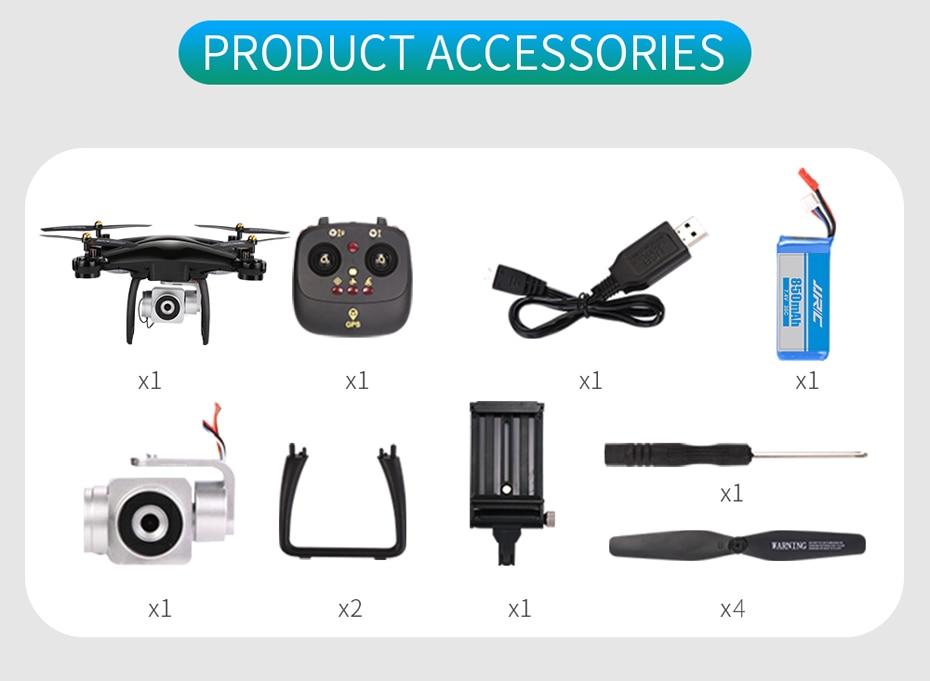 18 Drone 5G Wifi VS H68 Camera 1080P HD