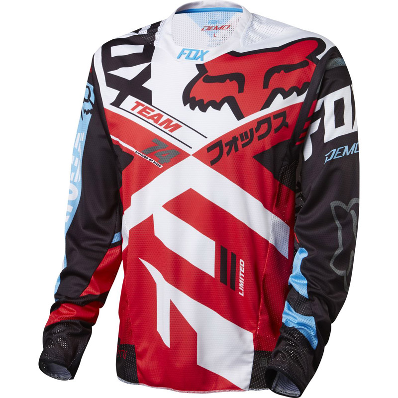 2018 accept customized DH LS BMX motocross downhill cycling Jersey clothing  enduro team pro rbx MTB Moto GP mountain bike a31febe4e