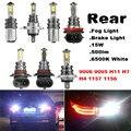 1 Шт. Автомобилей Противотуманные фары Foglight Тормозная Обратный Лампа 9006 9005 H11 H7 H4 1157 1156 Ошибка Бесплатный