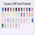 (DB129-DB139)MONASI Gel1Pcs 2016 UV LED Gel Soak Off Glitter Silver Color New Arrive Brand UV Gel Polish Profesional Nail Polish