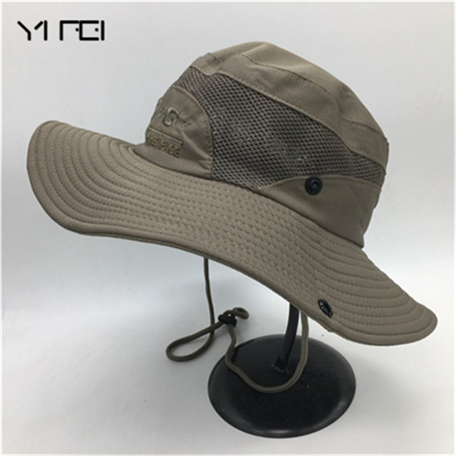 fc12aaffe20 Camouflage Boonie Bucket Hats Camo Fisherman Hats With Wide Brim Sun  Fishing Bucket Hat Camping Hat