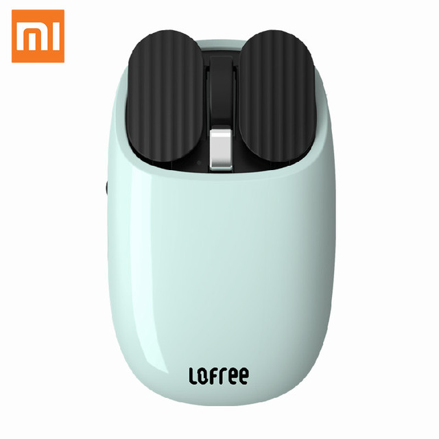 Xiaomi Youpin LOFREE Bluetooth Wireless Mouse 2.4G Bluetooth Dual Mode Connection Gesture Game Office Computer Mouse for Windows