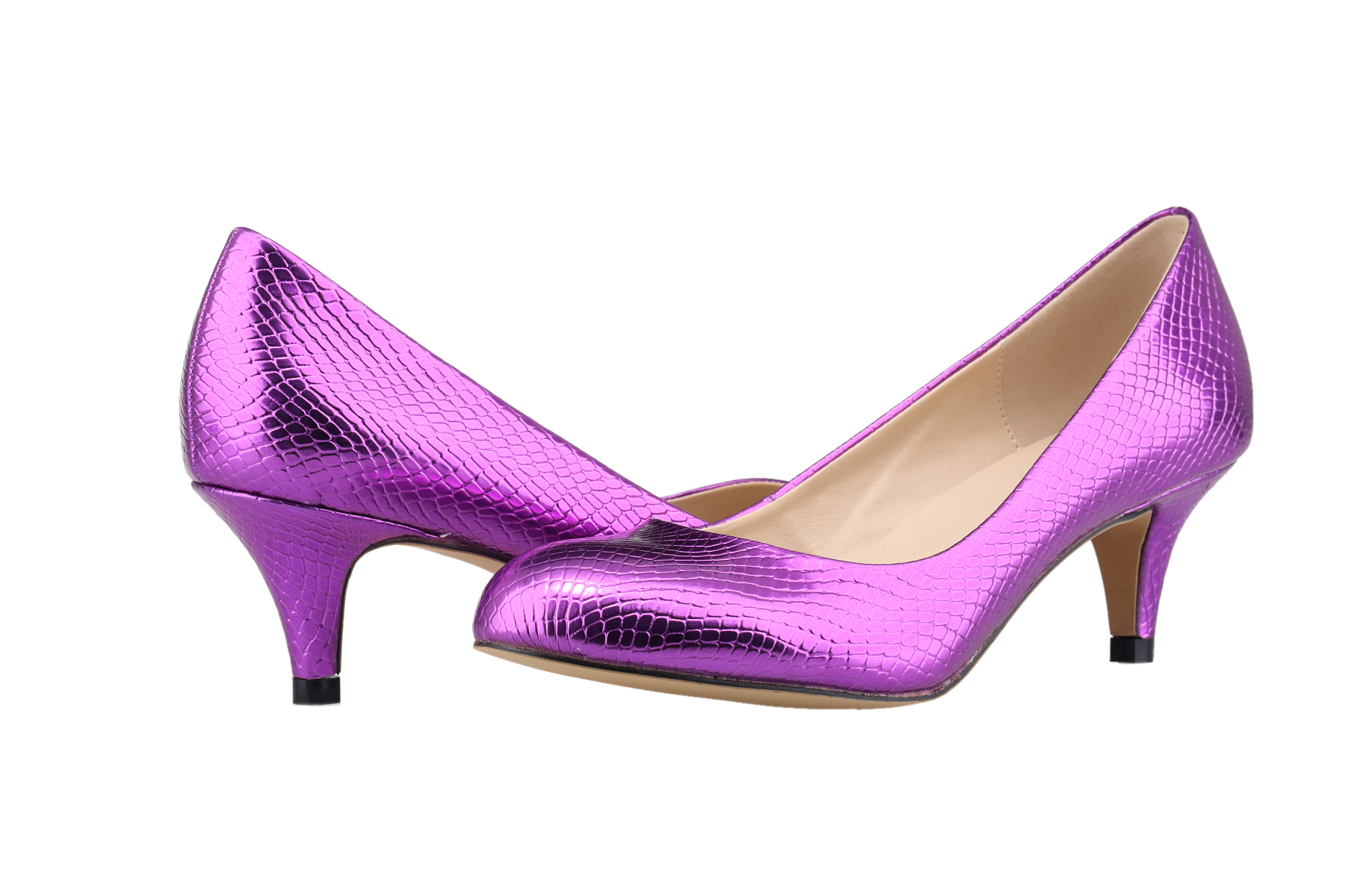 Ladies Shoes Women Pumps New Solid Tip High Heels Shoes -5881