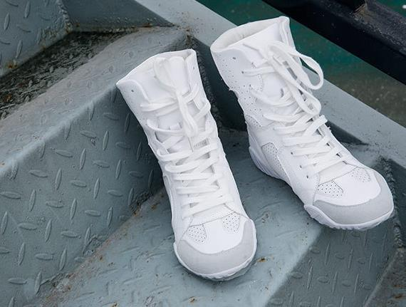 Luxury brand Hip-hop dancing cool white Shoes Fashion Boots High Top Trainers genuine leather martin Boots sneakers 4