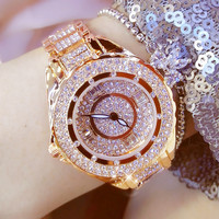 Golden Silver Rose Gold No Digital Rhinestone Scale Female Watch and Female Gifts Direct New 2019 Hot Sale Fashion & Casual
