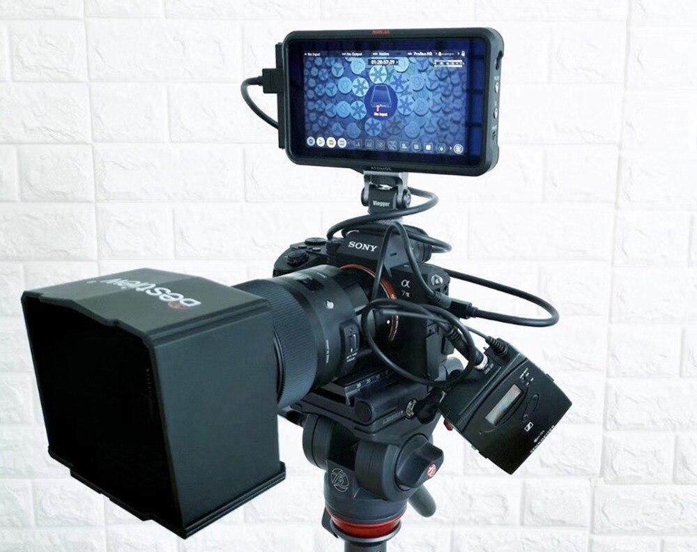 Vlogger adaptador do monitor de sapata quente