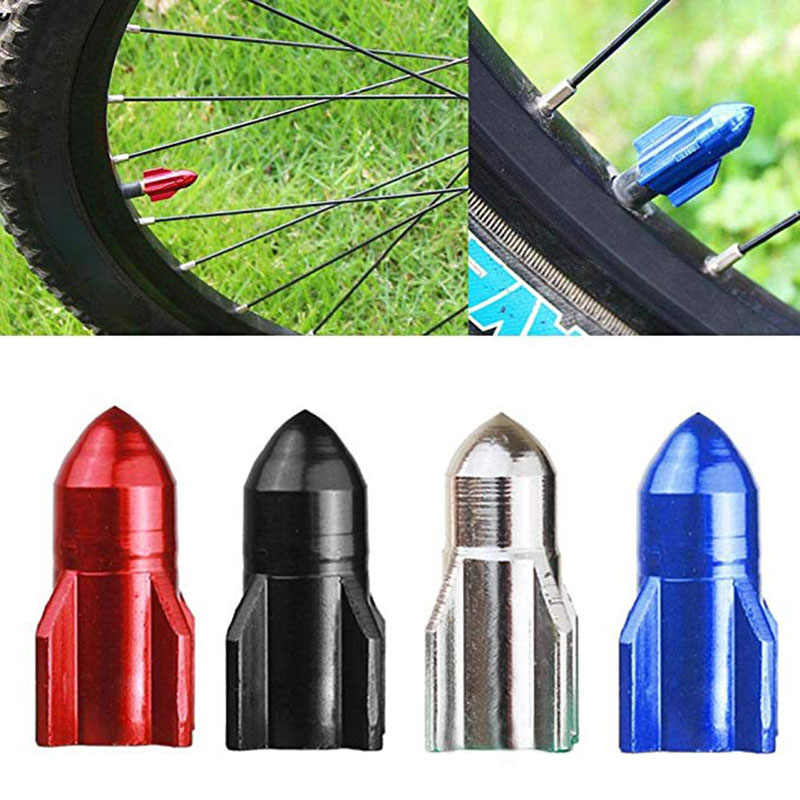 French Tyre Mountain Bike Air Nozzle Dust Cover Wheel Protector Valve Caps