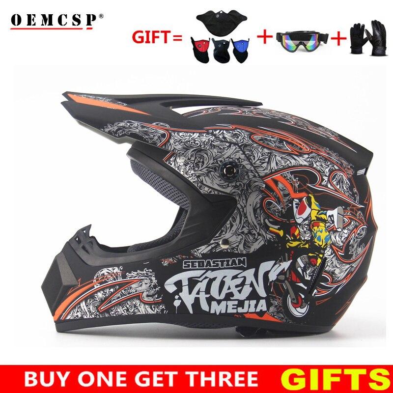 Top ABS motocross Off Road Helmet ATV Dirt bike Downhill MTB DH racing helmet cross Helmet capacetes motorcycle Adult