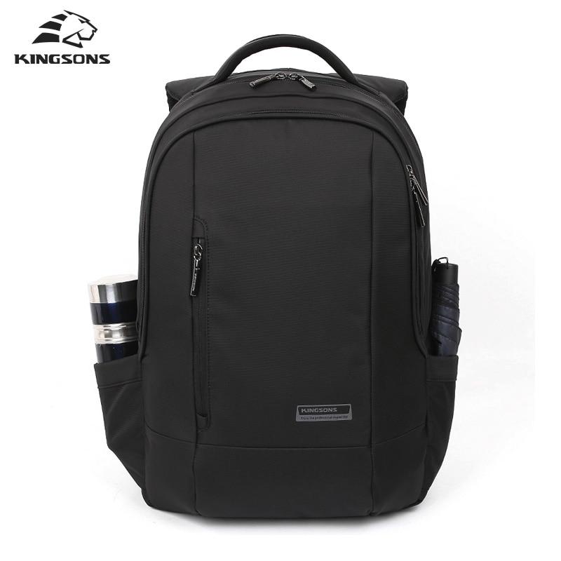 Kingsons 15.6 inch Laptop Backpacks Waterproof Nylon Backpack for Student Men Women Escolar Mochila Quality Brand Bag Packsack