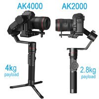 Feiyutech Feiyu AK4000 AK2000 3 Axis DSLR Stabilizer Follow Focus Handhel Video Gimbal for Sony Canon Panasonic Nikon cameras