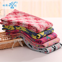 70 145 Pure Cotton Gauze Towels Three Large Strawberry Coated Jacquard Bath Towel Children Body Sponges