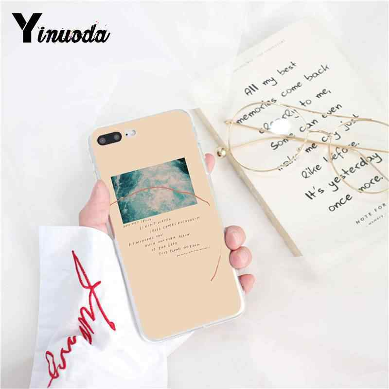 Yinuoda Thế Giới Ngọt Ngào Không Gian Nghệ Thuật DIY In Ốp Lưng Điện Thoại Cho Iphone X XS Max 6 6S 7 7 Plus 8 8Plus 5 5S XR 10 11 11pro 11 Promax