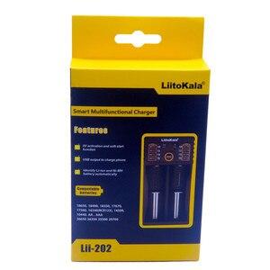 Image 4 - Novo liitokala lii 202 Lii 100 Lii 402 18650 carregador de bateria para 26650 16340 rcr123 14500 lifepo4 1.2 v ni mh ni cd inteligente
