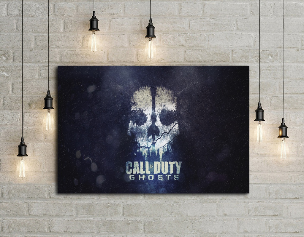 call of duty game Art Silk Fabric Poster Print Wall Home Decor Printing 24x36 Inche