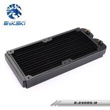 Bykski B-RD240-TN 240 мм 2x12 см медный радиатор водяного охлаждения