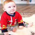 Boy sweaters for kids warm tops knitted cardigan for kids girls winter sweaters