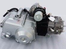 3 + 1 125cc Motor 4 Hub Elektrostart Automatische Kupplung Dirt Bike Pit Bike