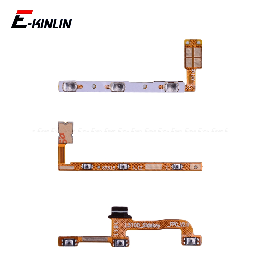 Switch Power ON OFF Key Mute Silent Volume Button Ribbon Flex Cable For Motorola Moto P30 Play One G7 G6 G5S G5 E5 Plus Parts
