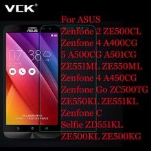 VCK Screen Protector Premium Tempered Glass For Asus Zenfone 2 ZE551ML ZE550KL ZE550KL Laser C 4