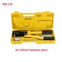 Free Shipping By DHL 1pcs 10 120MM Crimping Range Hydraulic Crimping Tool YQK 120