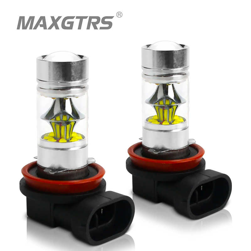 2x H7 H8 H11 9005 9006 HB3 HB4 100W CREE Chips LED Car Fog Bulb Driving Light Lamp LED Headlight Daytime Runing Light DRL 12V