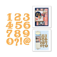 Eastshape 13 Pcs/lot Metal Cutting Dies Scrapbooking for Card Making DIY Embossing Cuts Arabic Numerals Digital 2019 New Craft цена