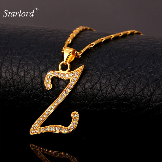 Initial z letter pendants necklaces womenmen gift cubic zirconia initial z letter pendants necklaces womenmen gift cubic zirconia alphabet jewelry gold color necklace p1696 aloadofball Gallery