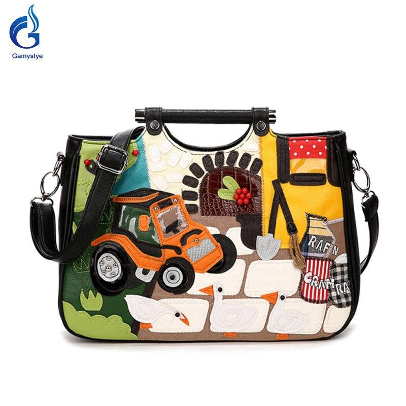 ФОТО women bags fashion handbags decorative handmade embroidery retro Bag women vintage handbag car style designal Car Shoulder Bag