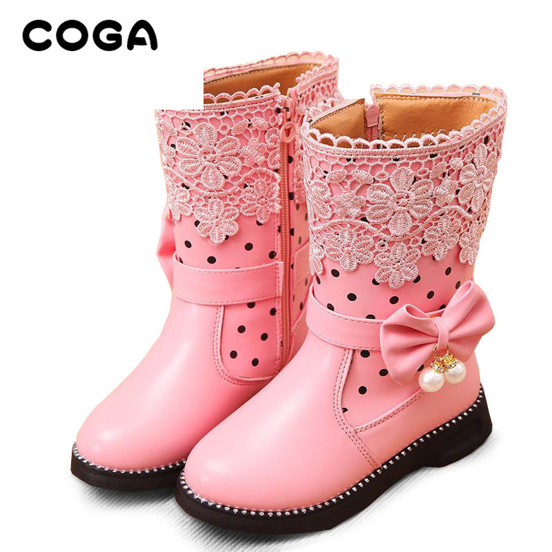 2017-new-high-insulated-boots-girls-snow-boots-childs-boots-general-leather-boots-1