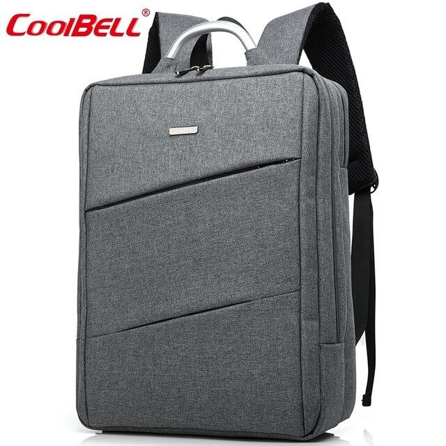 CoolBell Водонепроницаемый 14.6/15.6 дюймов сумка для ноутбука чехол для macbook pro 13 retina 14 дюймов laptop sleeve рюкзак бизнес