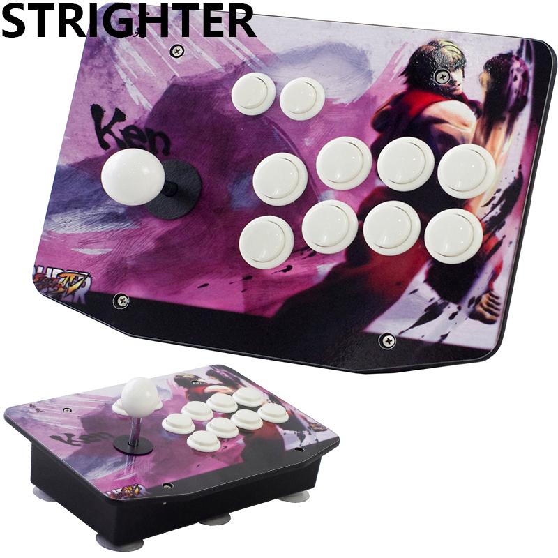 KEN arcade font b joysticks b font Game Controller for computer game Street Fighters