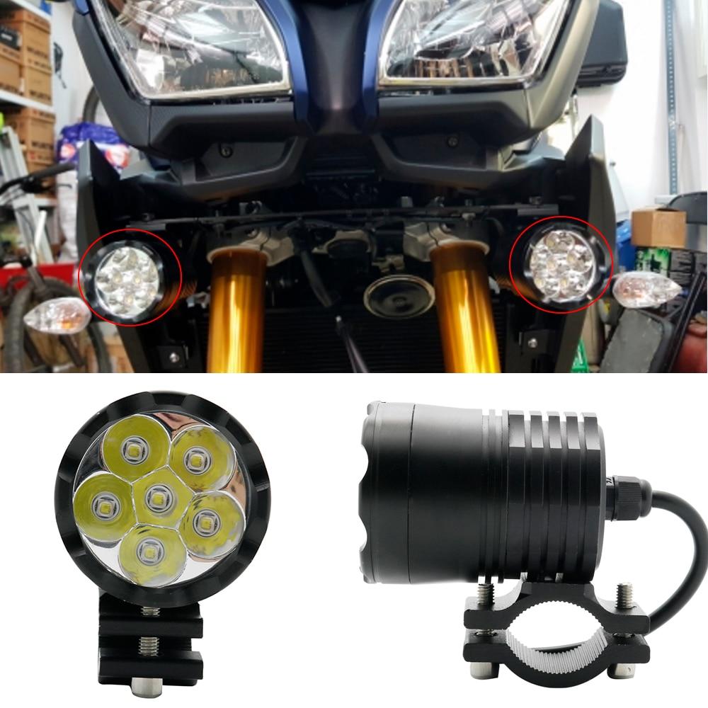 Universal Motorcycle Bicycle Fog Lights Led Mini Motorbike