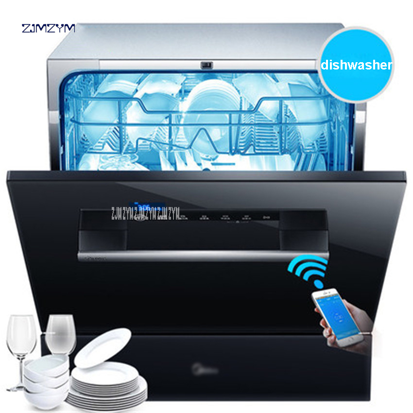 WQP8-W3908T-CN intelligent WIFI Automatic Dish Washer Machine Sterilization Drying Saving Energy and Water Washdisher Embedded