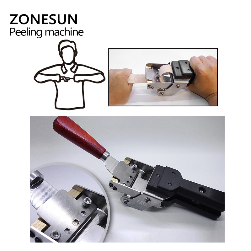 Image 3 - ZONEUN Leather Splitter Skiving Machine Peeling Machine Paring 