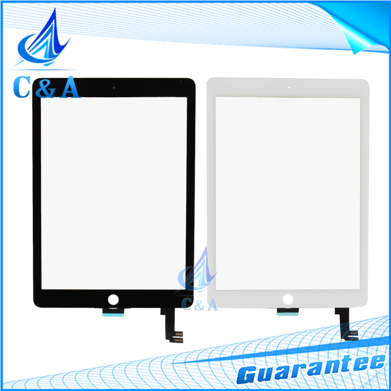 DHL EMS For iPad 6 6th lcd screen glass touch screen digitizer front panel for iPad 6 6th with flex cable assembly 10 pcs dhl ems 5 new for pro face touchscreen glass agp3300 l1 d24 f4