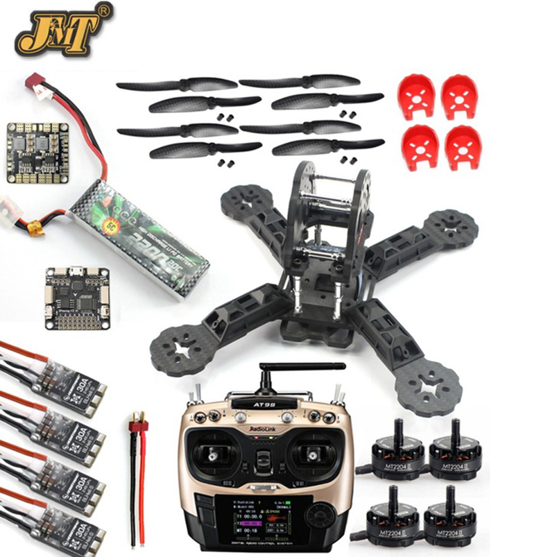 JMT DIY игрушки RC FPV Drone мини Racer Quadcopter 190 мм fpv f3 углеродного волокна Гонки Рама Комплект с Flight контроллер приемник ...