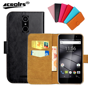 Hot!! GS160 Gigaset Case, 6 Colors High Quality Leather Exclusive Case For Gigaset GS160 Cover Phone Bag Tracking(China)