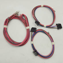 Apply to Golf 7 MK7 High pitched and bass speaker OEM rear door bass speaker cable harness set for(China)