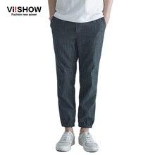 Viishow джинсы моды для мужчин тонкий брюки новая коллекция весна хлопок джинсы мода мотоцикл hip hop джинсы мужская одежда