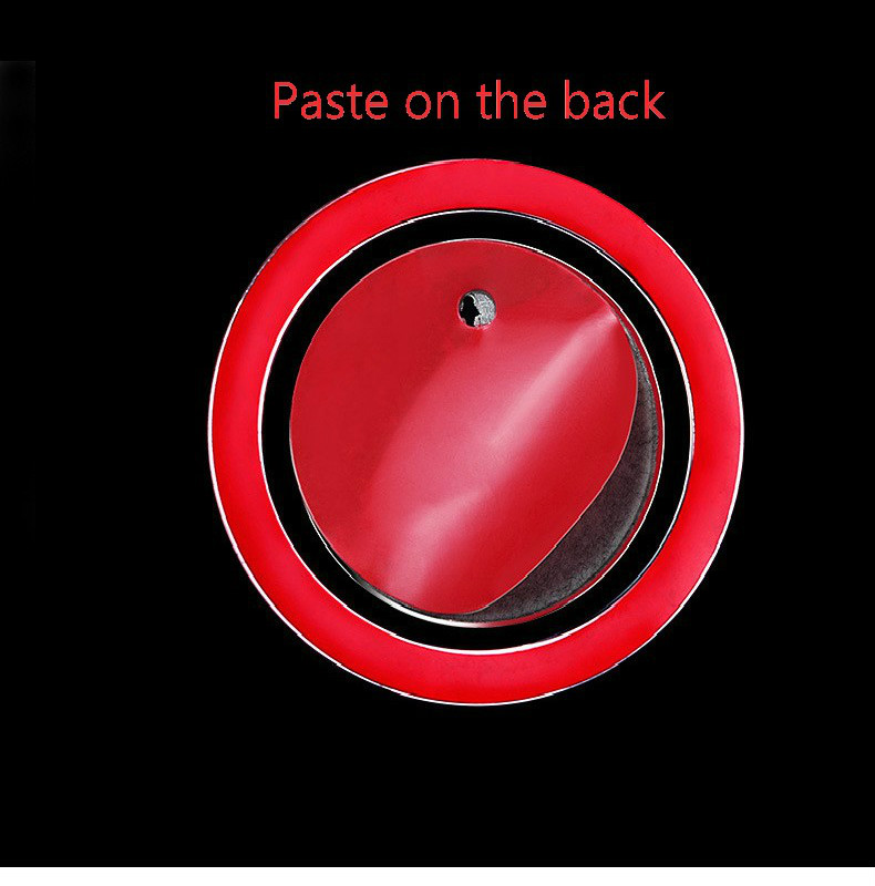 Car Ignition Ring Decorations Sticker For Toyota Ez Corlla