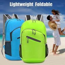 Ultra-light Foldable Nylon Unisex Travel Backpack Portable sport bag Hiking Backpacks Skin pack Rucksack for men and women