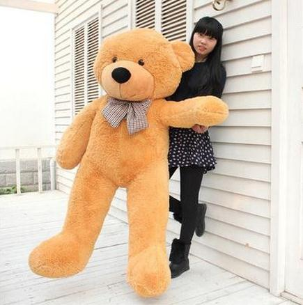 Hot Sale Jumbo Teddy bear cuddly toy large hold pillow doll embrace bear doll plush toys bear doll/lovers gifts Large size 160cm